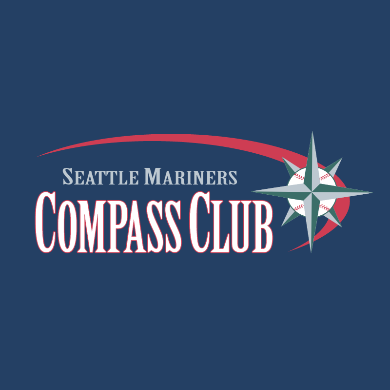 Seattle Mariners Compass Club vector