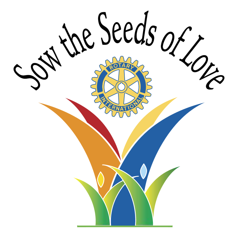 Sow the Seeds of Love vector