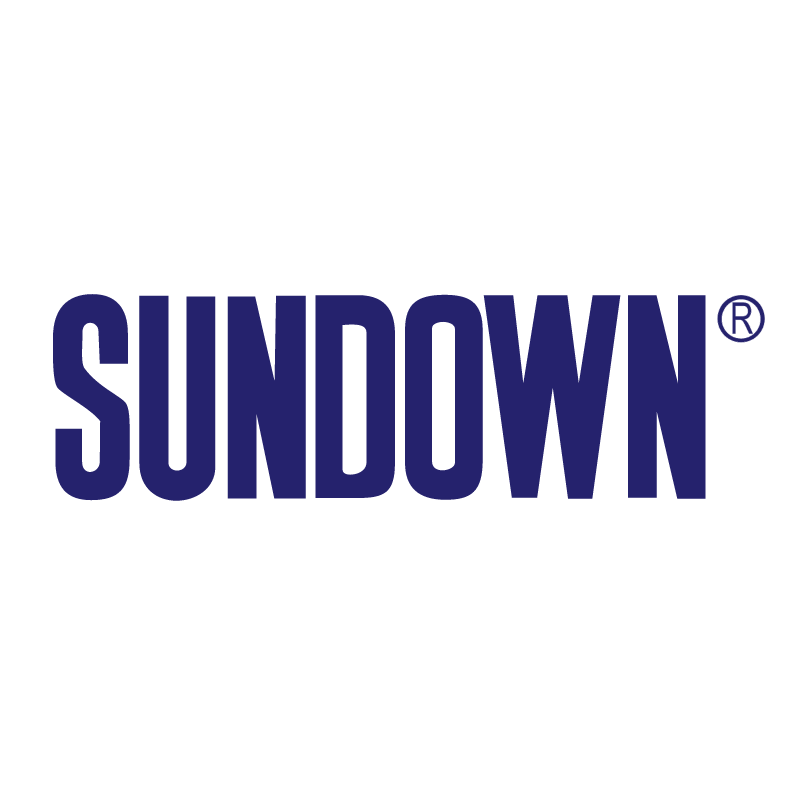 Sundown vector logo