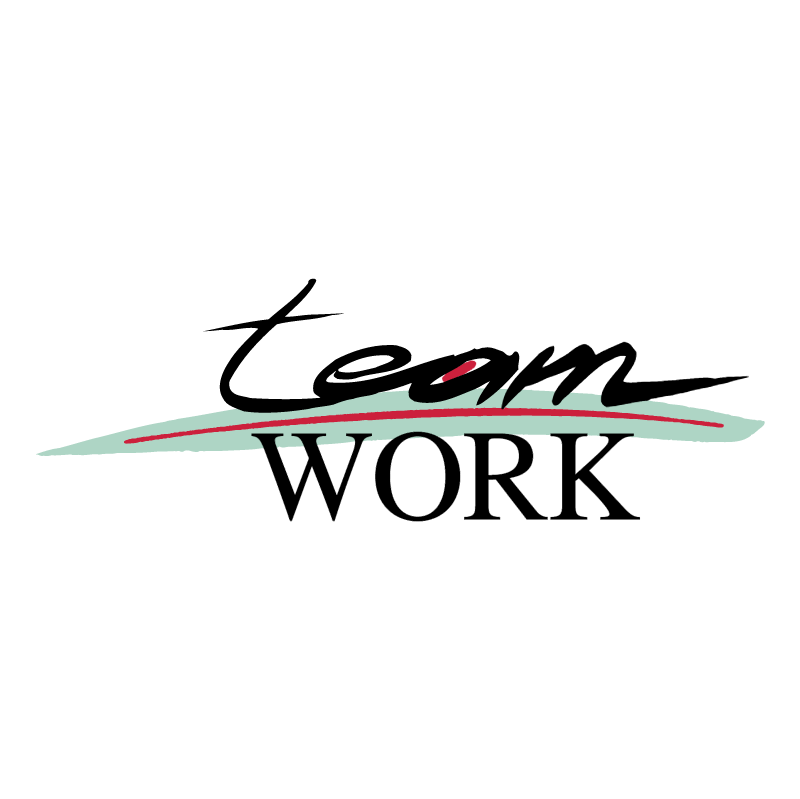 Team Work vector logo
