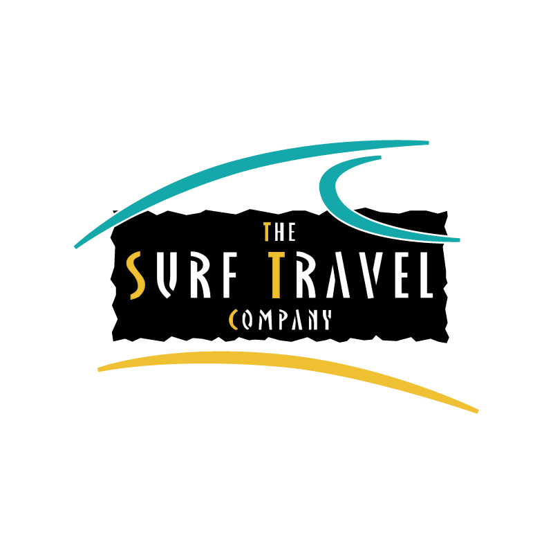 The Surf Travel Company vector