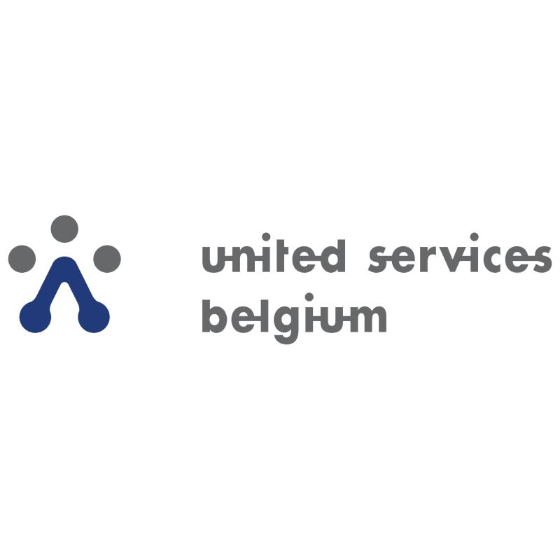 United Services Belgium vector logo