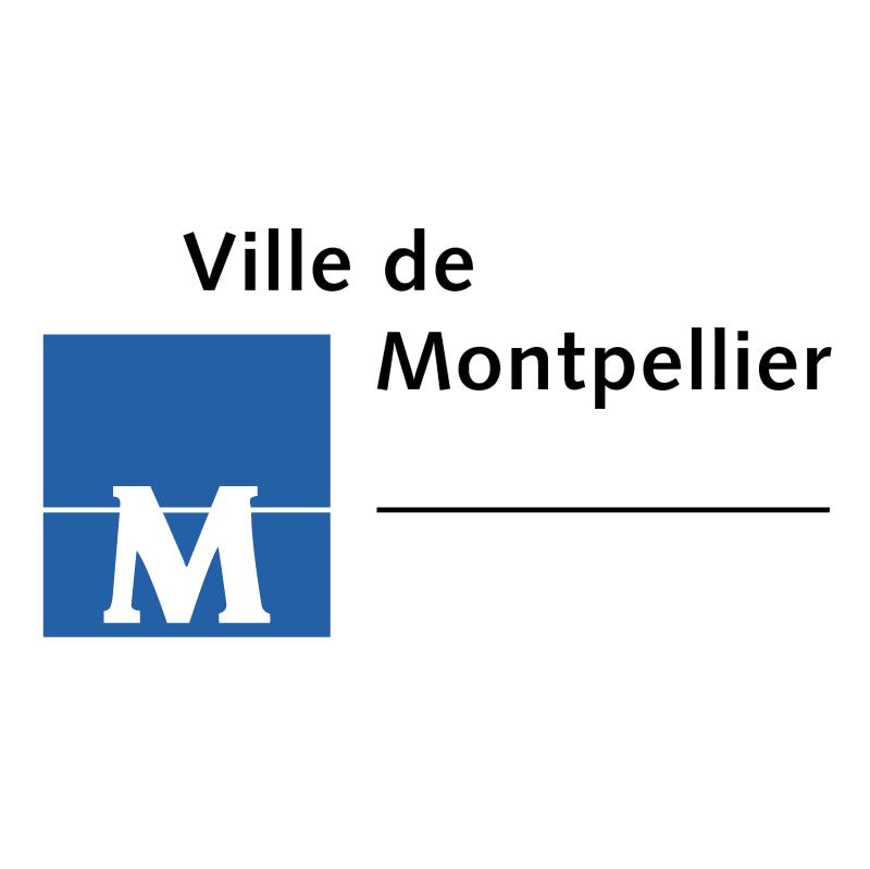 Ville de Montpellier vector