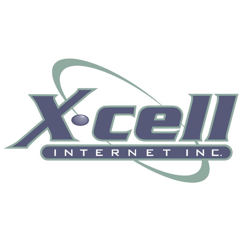 X cell Internet vector