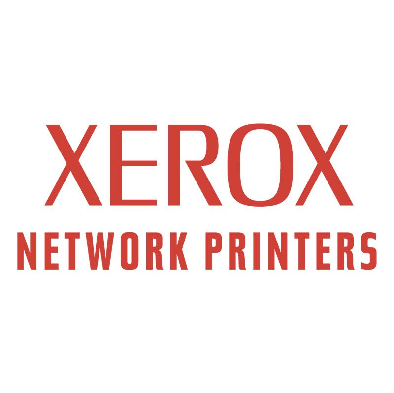 Xerox Network Printers vector