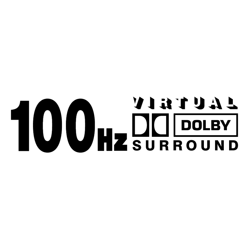 100 Hz Virtual Dolby Surround vector
