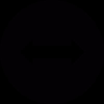 Horizontal scrolling vector logo
