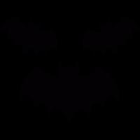 Three bats vector