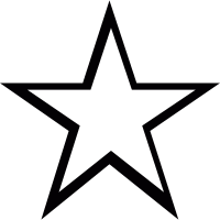 Star empty vector