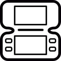 Gameboy Console vector