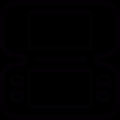 Gameboy Console vector logo