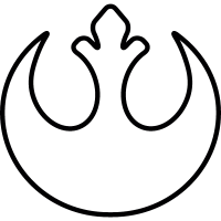 Rebel alliance Logo vector