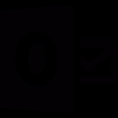 Outlook logo vector logo