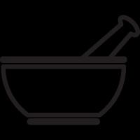 Medicine Mixing Bowl vector