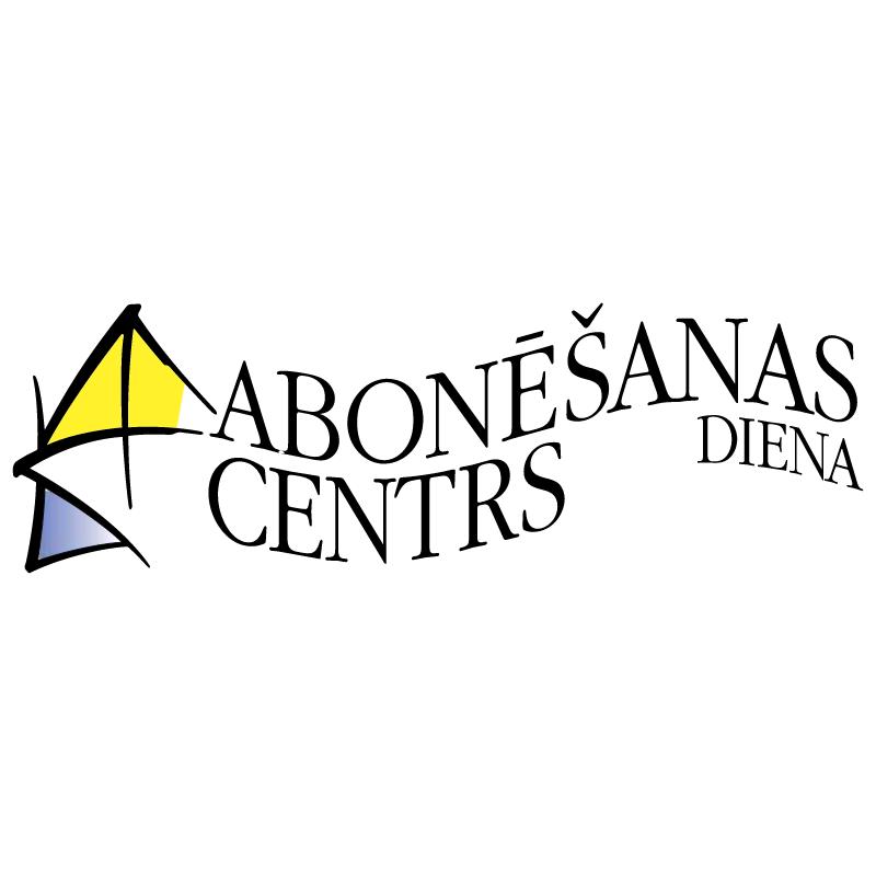 Abonesanas Centrs Diena vector