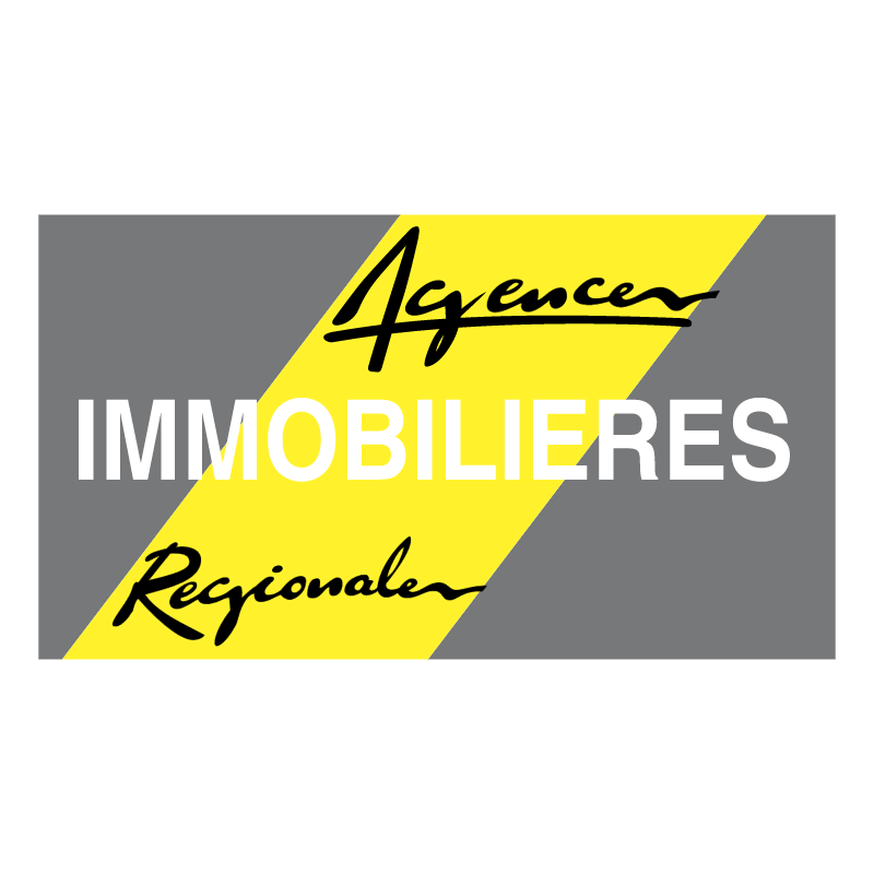 Agences Immobilieres Regionales vector