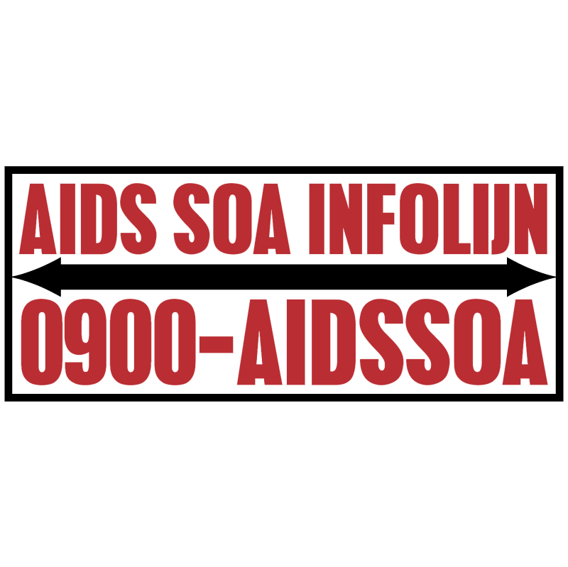 AIDS SOA Infolijn 39043 vector