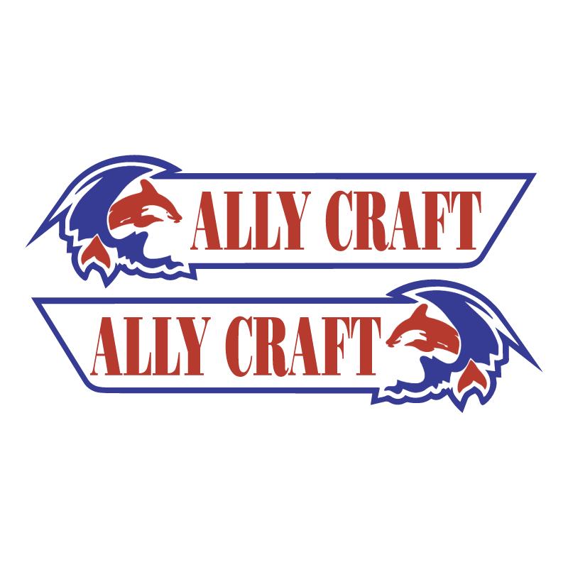 Ally Craft Boats vector