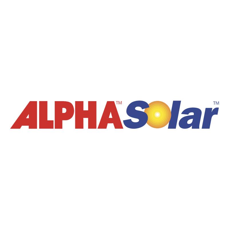 Alpha Solar 40311 vector