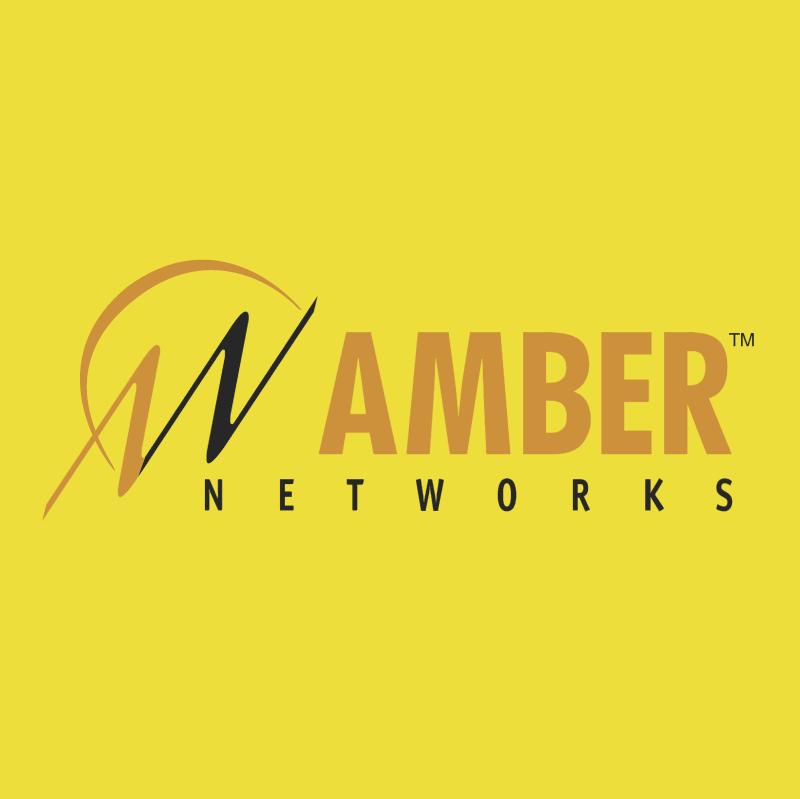 Amber Networks 14965 vector logo