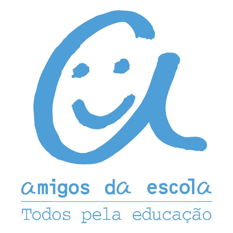 Amigos Da Escola vector logo