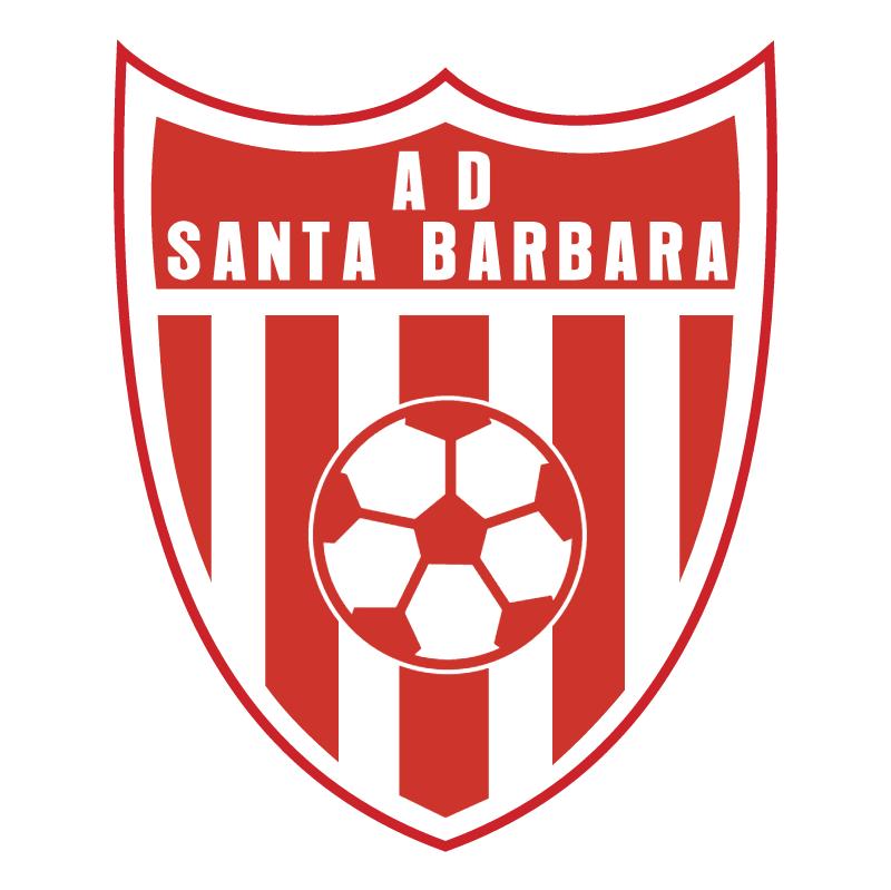 Asociacion Deportiva Santa Barbara de Santa Barbara 77437 vector