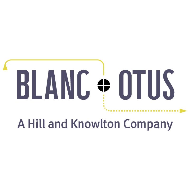 Blanc & Otus 22463 vector
