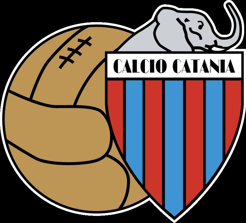 calcio catania vector