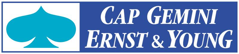 Cap Gemini Ernst & Young vector