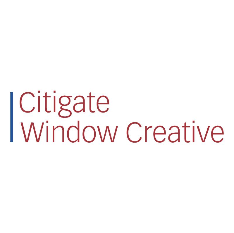 Citigate Window Creative vector logo