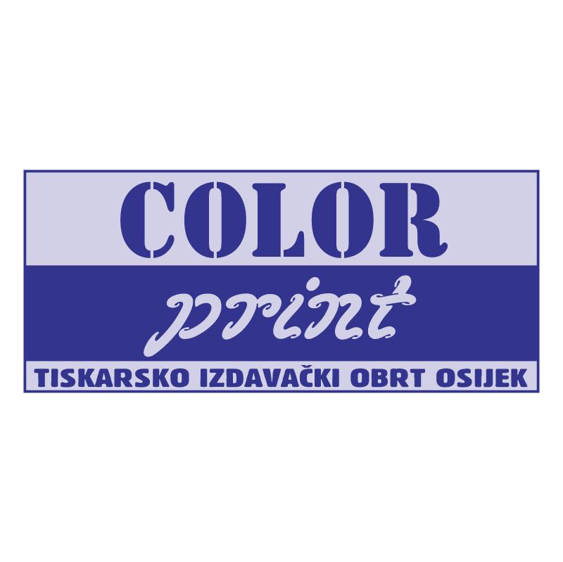 COLOR Print vector