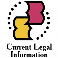 Current Legal Information vector