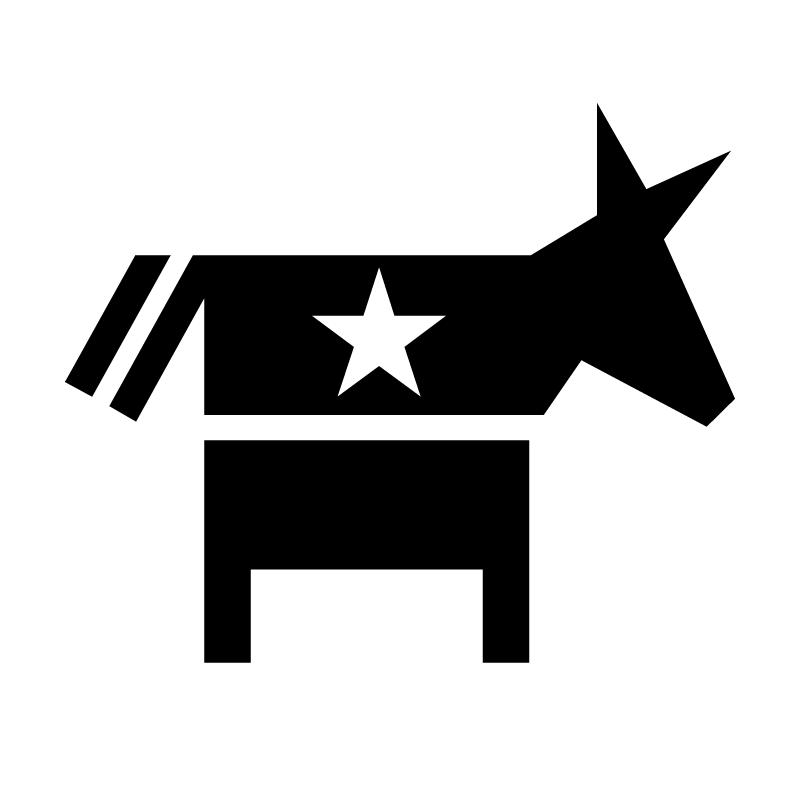 Democrat vector