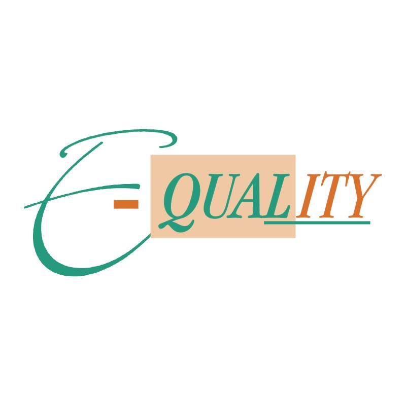 E quality vector logo