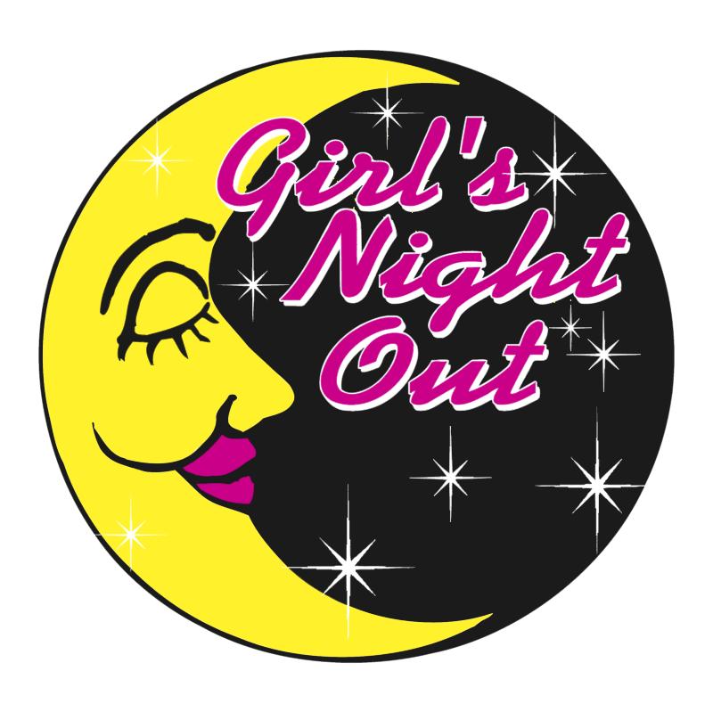 Girl's Night Out vector logo
