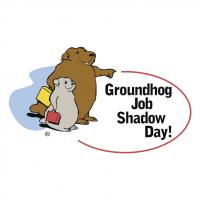 Groundhog Job Shadow Day! vector