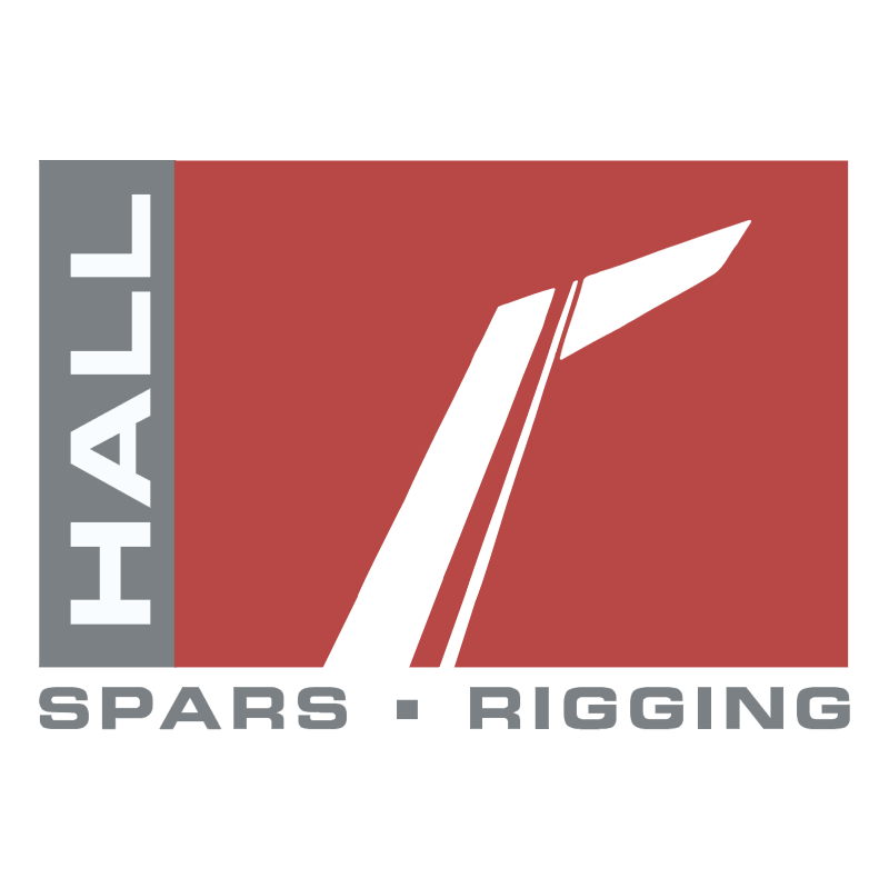 Hall Spars & Rigging vector logo