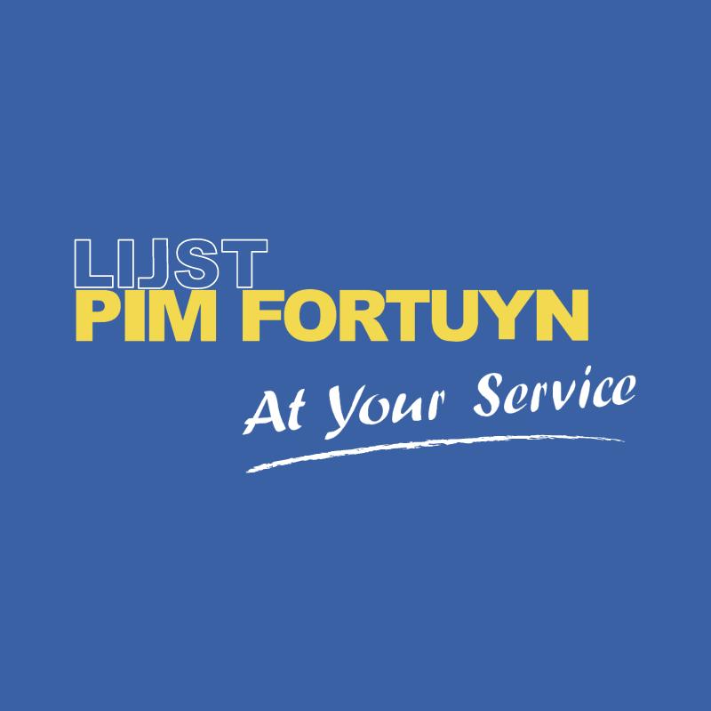 Lijst Pim Fortuyn vector