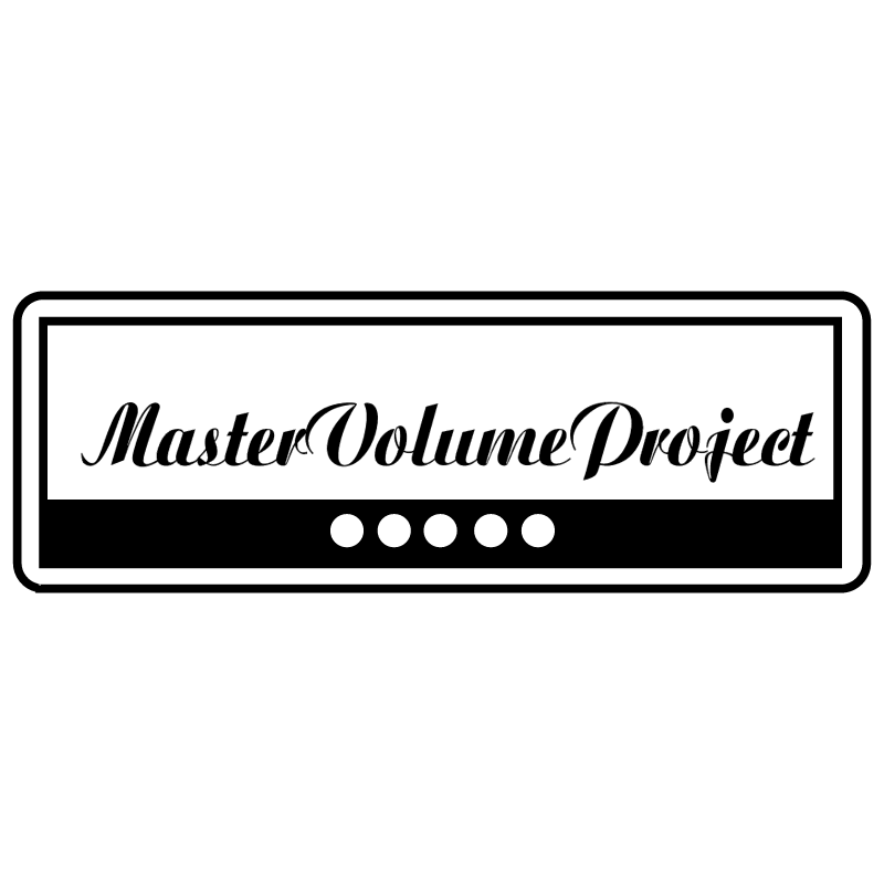 Master Volume Project vector