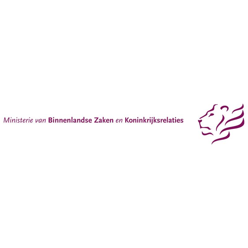 Ministerie van Binnenlandse Zaken en Koninkrijkrelaties vector
