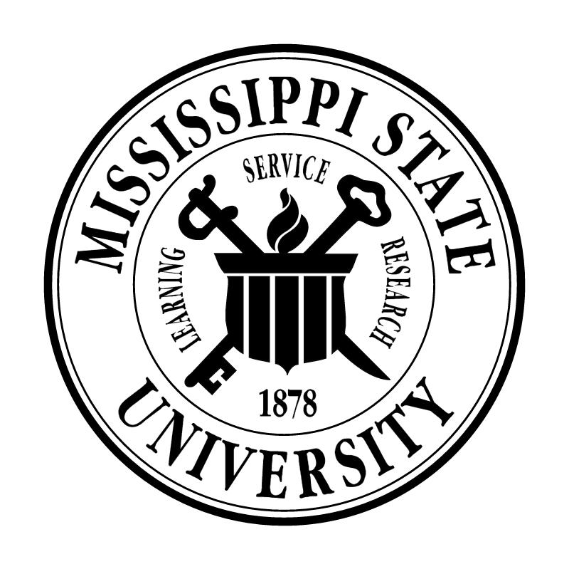 Mississippi State University vector logo