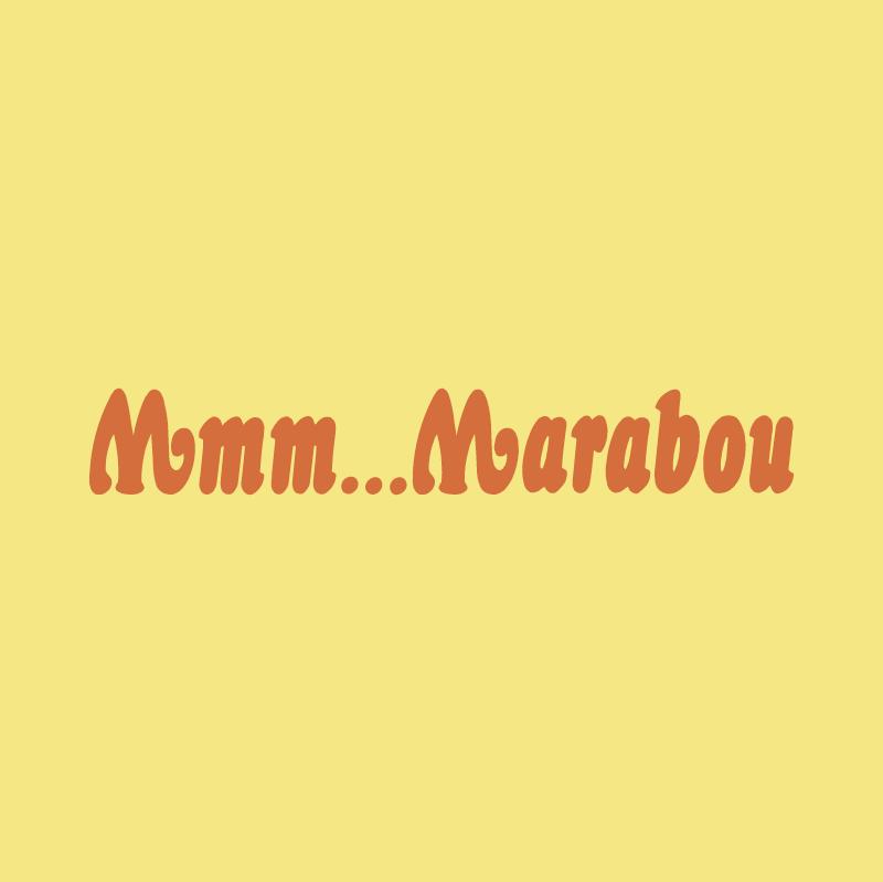 Mmm Marabou vector