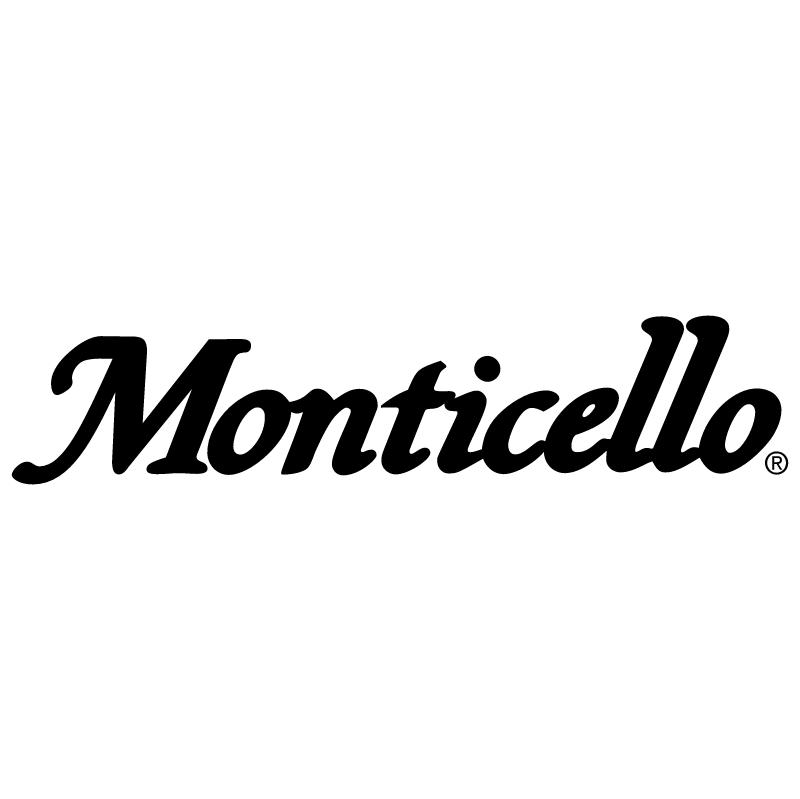 Monticello vector logo
