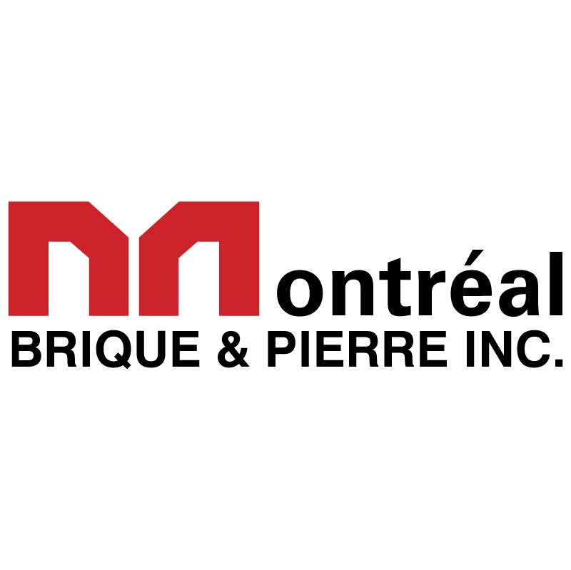 Montreal Brique & Pierre vector