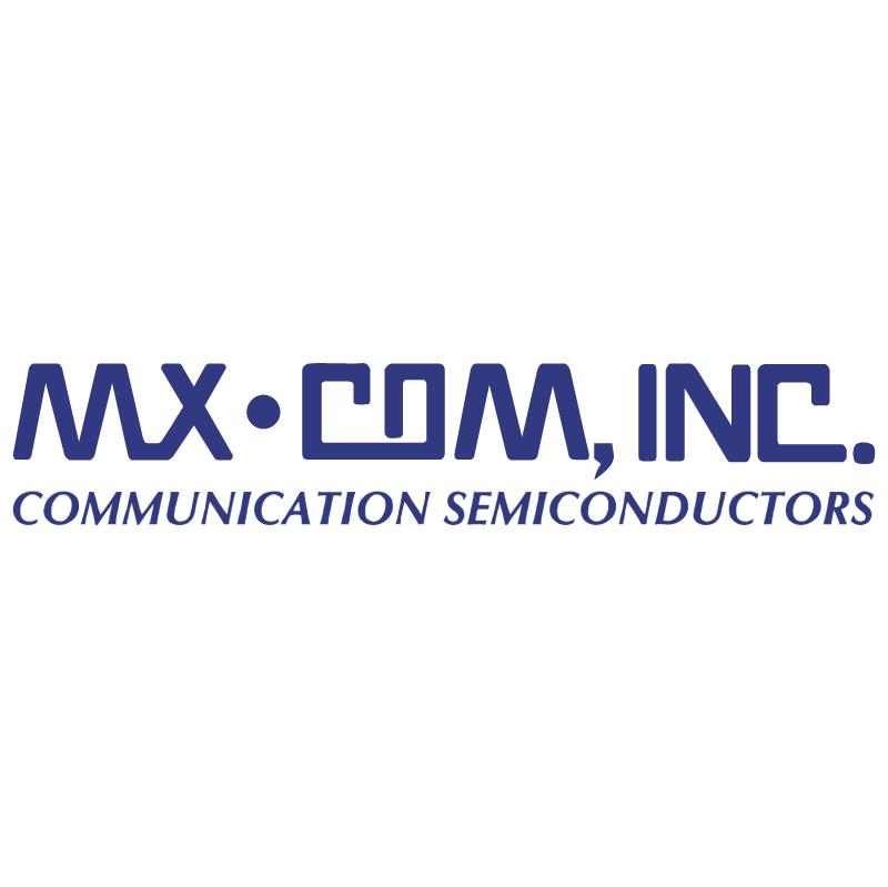 MX COM vector logo