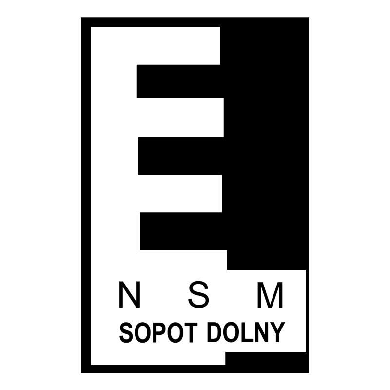 NSM Sopot Dolny vector