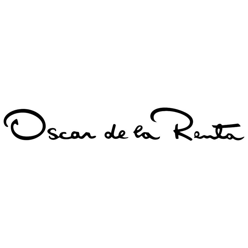 Oscar de la Renta vector