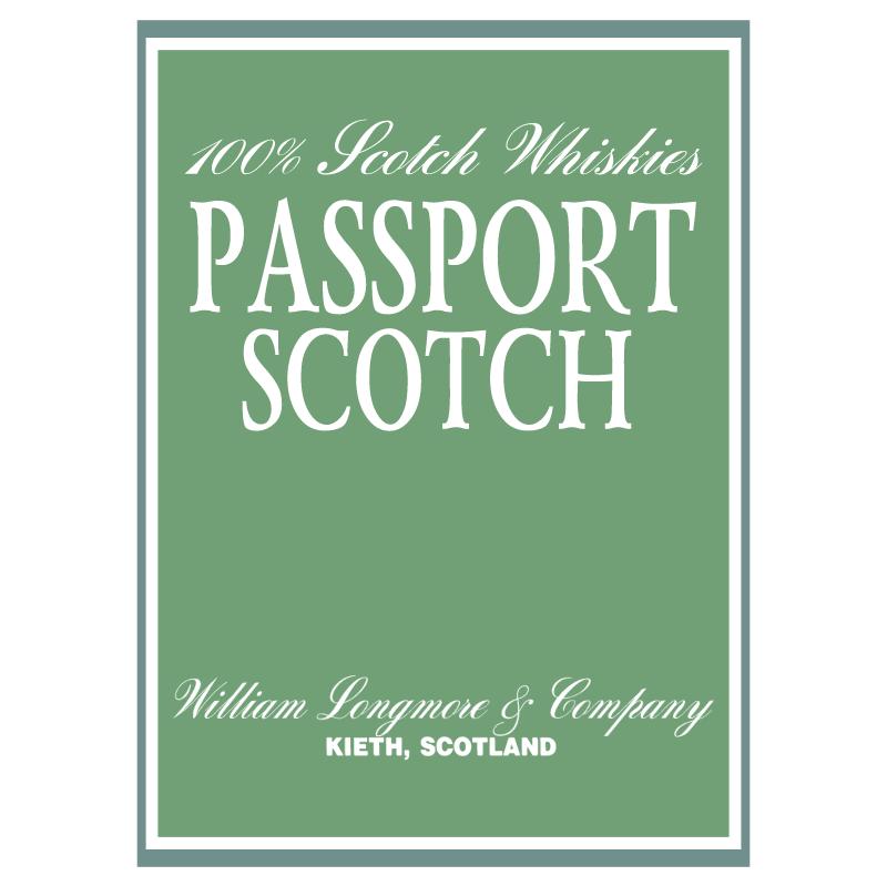 Passport Scotch vector