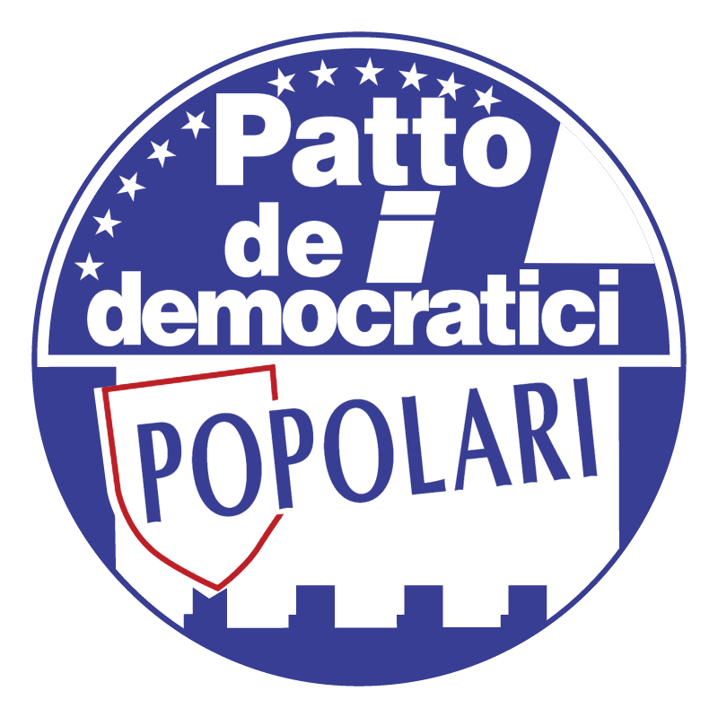 Patto dei democratici Popolari vector