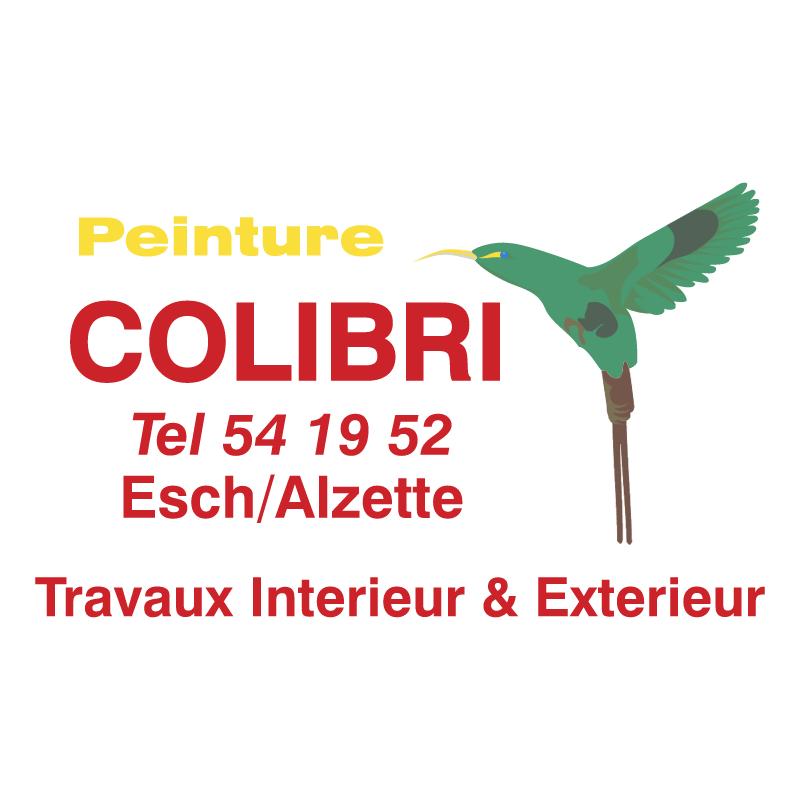Peinutre Colibri vector